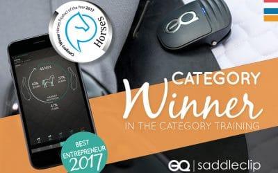 Equestic gewinnt Auszeichnung als Bestes Reitsporttrainingsprodukt des Jahres 2017